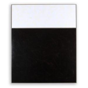 Schwarz-Weiß an Grau Acryl auf Aludibond 101,4 x 81,4 x 5,3 cm 2016